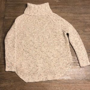 Free People Sweaters - Free People Turtleneck Circle Hem Sweater. Size S.
